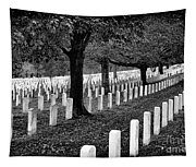 Rows Of Honor Tapestry