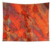 Rust Abstract Tapestry