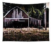 Rustic Barn Tapestry