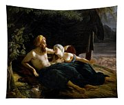 Ruth And Booz Tapestry