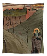 Saint Anthony The Abbot In The Wilderness Tapestry