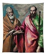 Saint Peter And Saint Paul Tapestry