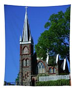 Saint Peter's Roman Catholic Church In Harpers Ferry Tapestry