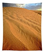 Sand Dune At Great Sand Hills In Scenic Saskatchewan Tapestry