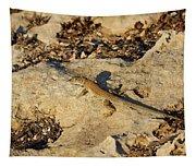 Schreiber's Fringe-fingered Lizard Tapestry