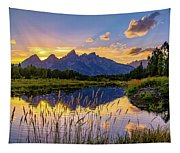 Schwabacher's Reflection Tapestry