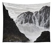 Seal Rock Waves And Rocks 2 Tapestry