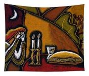 Shabbat Shalom Tapestry