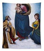 Sistine Madonna Tapestry