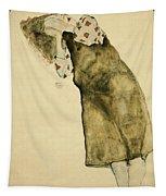 Sleeping Girl Tapestry