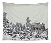 Snow In July Tapestry