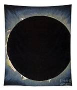 Solar Eclipse, 1860.  Tapestry by Granger