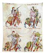 Spain: Knights, C1350 Tapestry