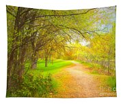 Spring Pathways Tapestry