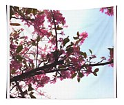 Spring Time Series Painting Tapestry
