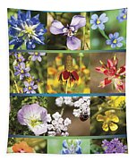 Spring Wildflowers II Tapestry
