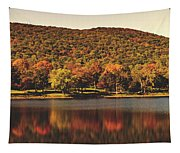 Squantz Pond In Autumn Tapestry