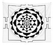 Sri Yantra Tapestry