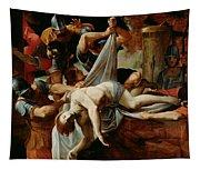 St Sebastian Thrown Into The Cloaca Maxima Tapestry