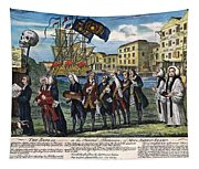 Stamp Act: Repeal, 1766 Tapestry
