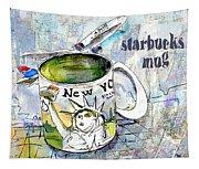 Starbucks Mug New York Tapestry