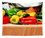 Still Life - Vegetables Tapestry