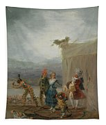 Strolling Players Tapestry
