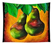 Study Of Two Pears Tapestry