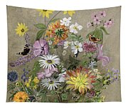 Summer Flowers Tapestry