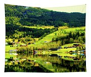 Summer In Norway Tapestry