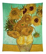 Sunflowers By Van Gogh Tapestry