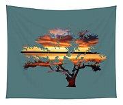 Sunrise Tree Tapestry