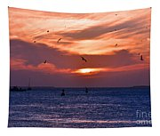 Sunset Key West  Tapestry