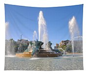 Swann Fountain - Center City Philadelphia Tapestry
