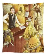 Tammy And The Postmaster Tapestry