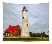 Tawas Point Lighthouse - Lower Peninsula, Mi Tapestry