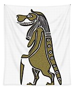 Taweret - Mythical Creature Of Ancient Egypt Tapestry