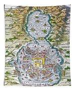 Tenochtitlan (mexico City) Tapestry