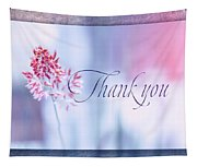 Thank You 1 Tapestry