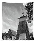 The Bellfry And The Church Of Kustavi Tapestry