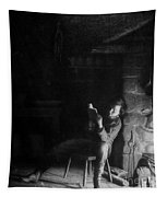 The Boyhood Of Lincoln Tapestry
