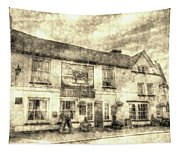 The Bull Pub Theydon Bois Vintage Tapestry