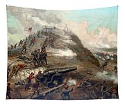 The Capture Of Fort Fisher Tapestry