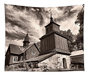 The Church Of Fagervik Tapestry