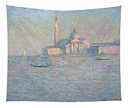 The Church Of San Giorgio Maggiore Tapestry