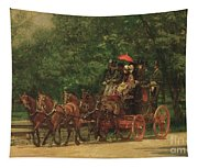 The Fairman Rogers Coach And Four Tapestry