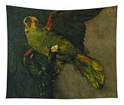 The Green Parrot Tapestry