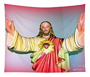 The Hands Of Christ Tapestry