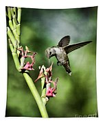 The Hummingbird  Tapestry