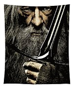 The Leader Of Mankind  - Gandalf / Ian Mckellen Tapestry